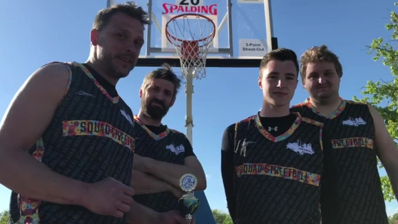 SQUAD STREETBALL from Germany wanna be FIRST in Saint P