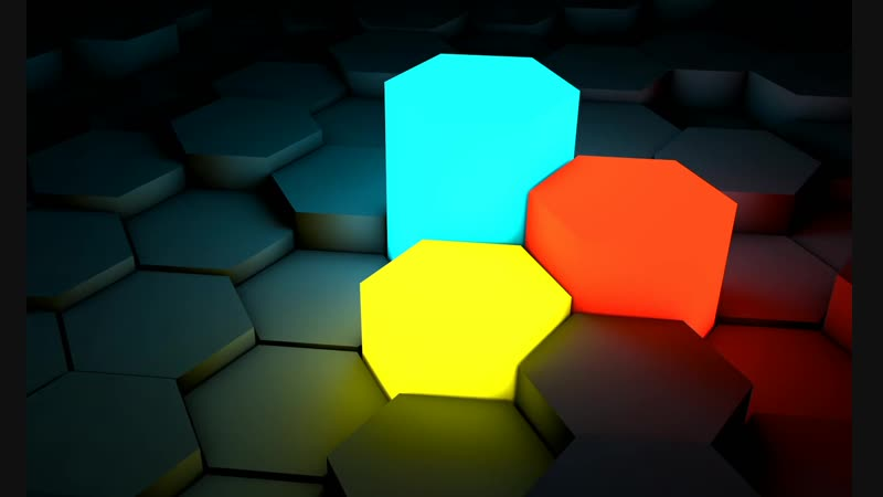 Цветной Шестиугольник Color Hexagon
