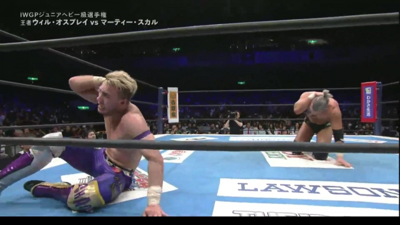 [My1] Sakura Genesis 2018: IWGP Jr. Heavyweight Championship Match: Champion Will Ospreay vs. Marty Scurll