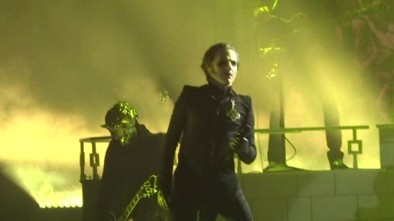 Ghost - If You Have Ghosts, Dance Macabre and Square Hammer (Live in Riverside 5-5-18)