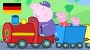 Peppa Wutz | Opa's Kleine Trein | Peppa Pig Deutsch Neue Folgen | Cartoons für Kinder