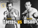Хосе Торрес vs Бобо Олсон Jose Torres vs Carl Bobo Olson 27 11 1964