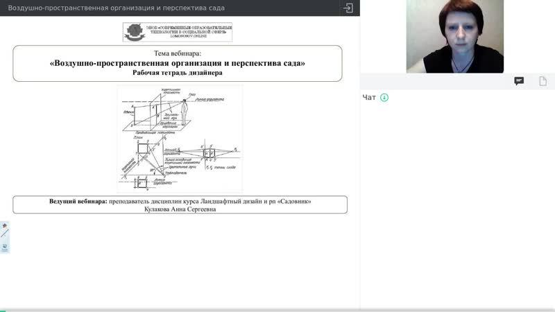 17. Воздушно-пространственная организация и перспектива сада