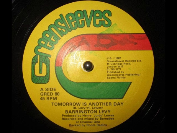 Barrington Levy - Tomorrow Is Another Day