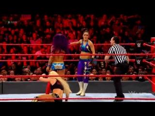 WWE.RAW.2018.03.19.Mandy Rose  Sonya Deville vs. Bayley  Sasha Banks