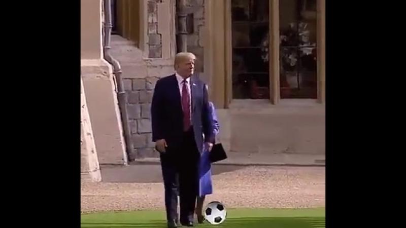 Нифига нагличане не умеют играть в футбол...