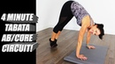 4 MINUTE TABATA ABS/CORE - ROCK YOUR SOCKS!