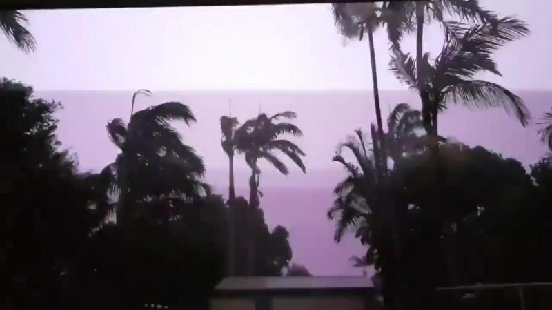Australia - Oct. 11, 2018 - Mega lightning_storm hits Queensland tonight - Via cyclone of Rhodes - Video credit Megan Woodgate -