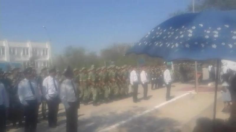 Армия Milliy armiyamiz ming minglab og'lonlarimiz ushin chinakam mardlik haqiyqiy vatanparvarlik va fidoyilik maktabiga aylanad