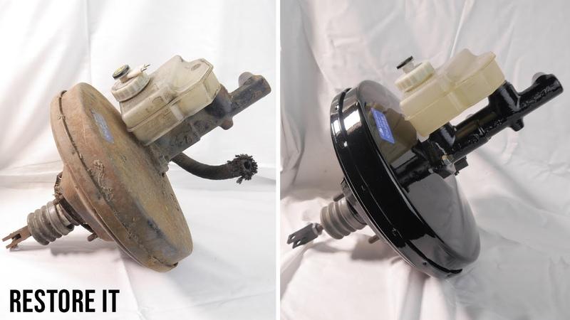 BMW E30 Brake Booster Master cylinder Restoration | BMW E30 325i Sport Project S1 E3