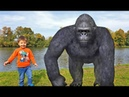 Kids and Monkey Johnny Johnny Baby Songs, Music Songs Johny Johny Yes Papa video for kids