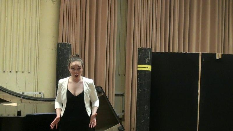 Alexandra Yangel (mezzo-soprano) - W.A.Mozart -