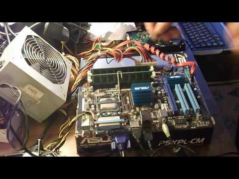 Asus P5G41C-M LX Xeon X5460 CPU (3.16Ghz.) SYSTEM UPDATE
