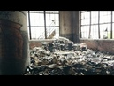 INSIDE AN ABANDONED FACTORY WITH WORKERS