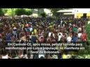 Pediu Lula livre e ouviu BOLSONARO (Canindé-Ceará)