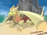 Первый стрим: рисуем дракона.