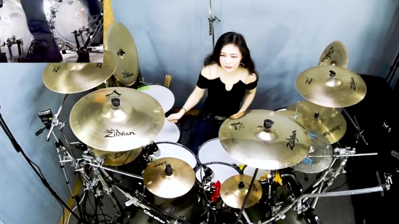 Ami Kim - METALLICA - Dyers Eve drum cover