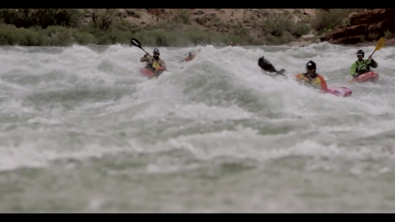 No Barriers Grand Canyon Expedition White Water Highlights