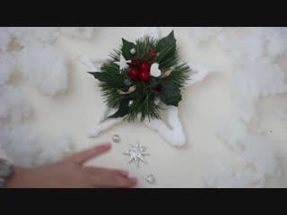 DIY Новогоднее украшение своими руками_ ЗВЕЗДА. Идея Pinterest