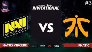 NaVi vs Fnatic RU #3 (bo3) SL i-League Invitational S5 Minor 14.04.2018