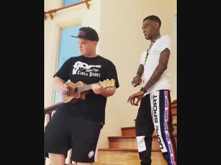 Soulja boy  einer bankz — crank that (acoustic remix)
