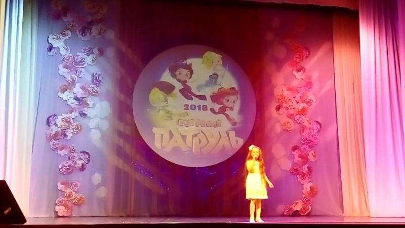 Девочка и дельфин, Софья Балуева, 7 лет