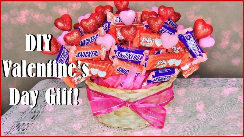 DIY Valentine's Day Gift ❤ Chocolate Bouquet
