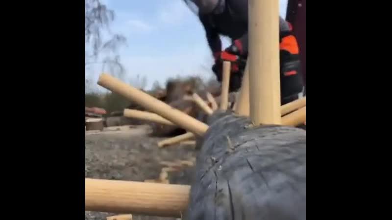 упражнение: обрезка сучьев