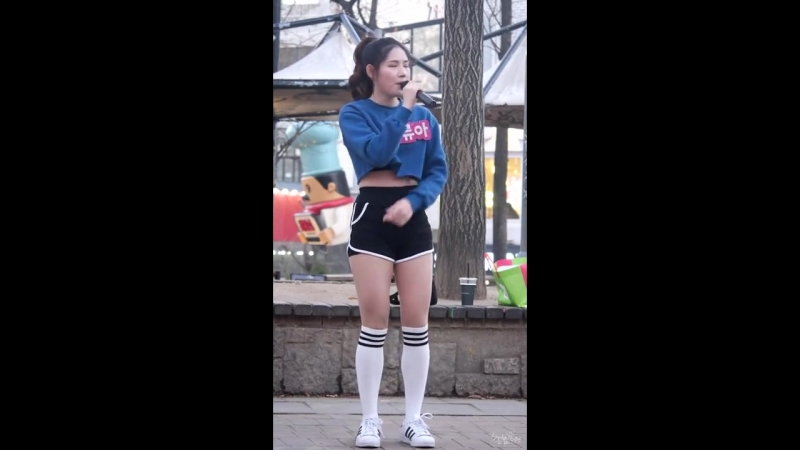 [fancam] Ryua - See Through (Kwon Jin Ah) @ Hongdae Busking 161201