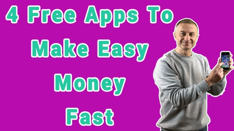 4 Free Apps To Make Easy Money With💸 Fast 📱