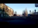 Дорога к Набережной. Раннее весеннее утро в Самаре.