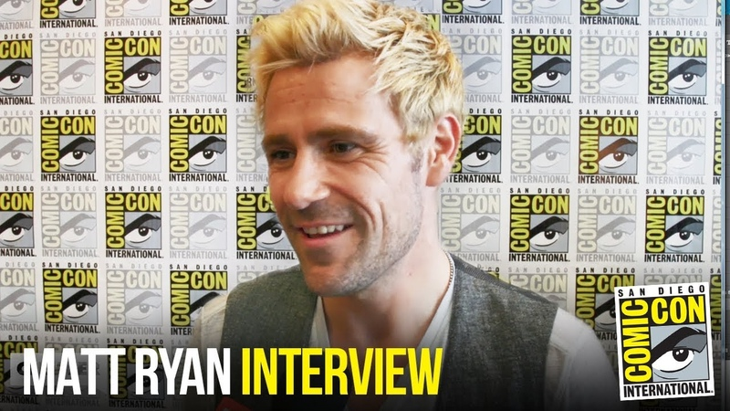 Matt Ryan's Constantine To Shake Things Up On Legends of Tomorrow S4 at Comic Con 2018