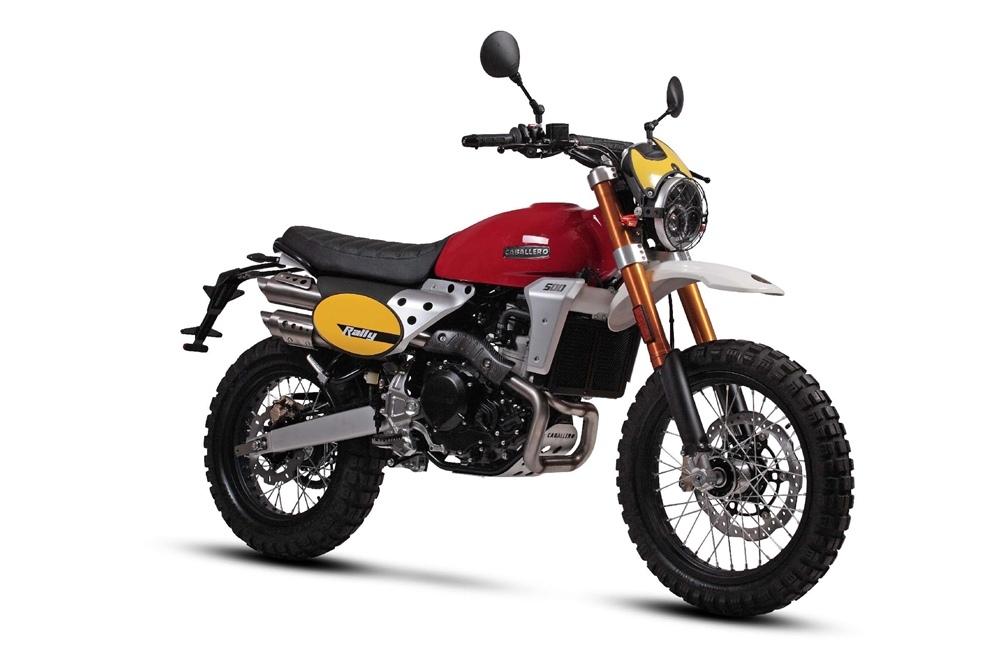 EICMA 2018: мотоцикл Fantic Caballero Rally 500 2019