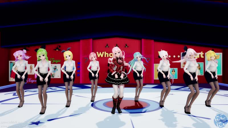 【MMD】 TWICE - What is Love؟【Full version, 47 models】[UHD]