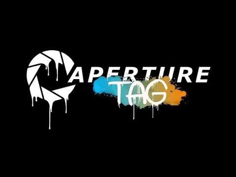 Стрим по игрухе Portal 2 Aperture Tag   Глава 1