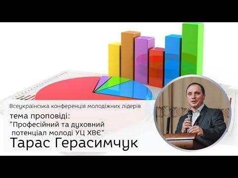Професійний та духовний потенціал молоді УЦ ХВЄ. Тарас Герасимчук елементилідерства