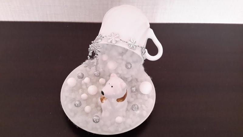 DIY\ ЛЕТЯЩАЯ ЧАШКА... DIY\ Floating Tea Cup...