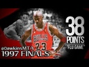 Michael Jordan UNREAL 'FLU GAME' in 1997 Finals Game 5 at Jazz - 38 Pts, CLUTCH!