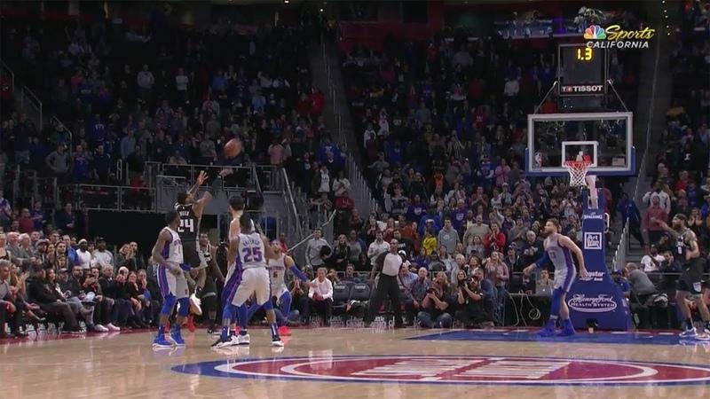 Buddy Hield GAME-WINNER vs Pistons 1.19.19