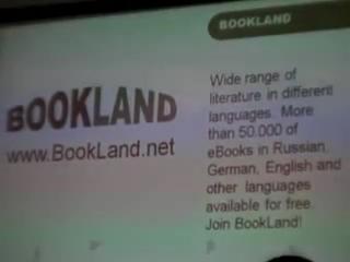 Пресс-конференция PocketBook на CEBIT 2010