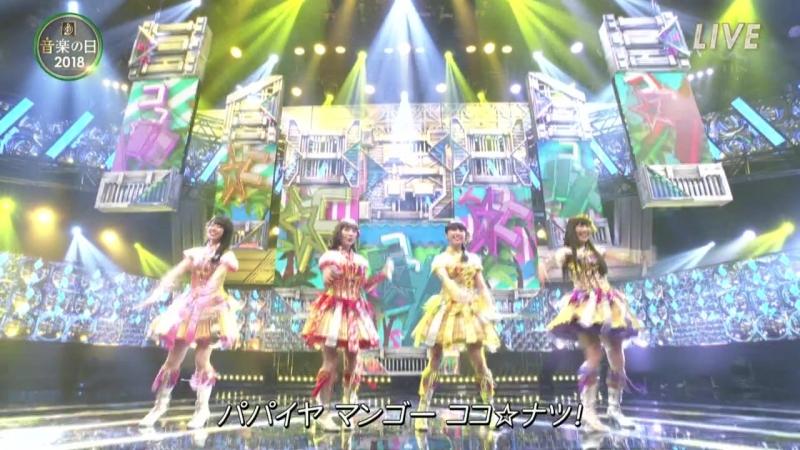 Momoiro Clover Z - Coco☆Natsu, Xiao Yi Xiao! Talk - Ongaku no Hi 20180714