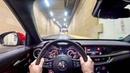 2019 Alfa Romeo Stelvio Quadrifoglio 510HP - NIGHT POV DRIVE - Lets Drive