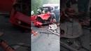 Иномарка стала грудой металла после ДТП на трассе в Кузбассе есть пострадавший