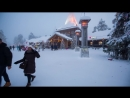 Santa Claus presents Welcome to Rovaniemi my official hometown in Lapland Fin