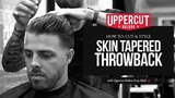 Haircut Tutorial How to Cut and Style Skin Tapered Throwback Uppercut Deluxe Easy Hold
