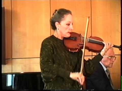 Nikolo Paganini - Kantabile - Leonarda Brushtein vioin