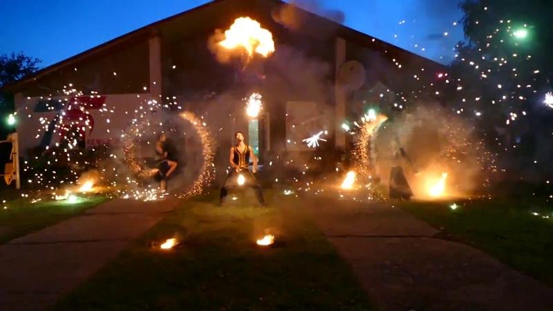 Шоу-Проект FENRIR огненно-пиротехническое шоу