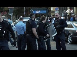 Berlin police savagely beat unarmed black man (exclusive video)