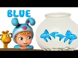 Learn Colors for kids with Fish Preschool Learning Videos Infobells