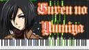 Guren no Yumiya OP Shingeki no Kyojin Piano Tutorial Synthesia Animenzzz